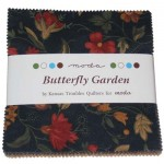 Butterfly Garden Charm Pack by Kansas Troubles Quilters for Moda