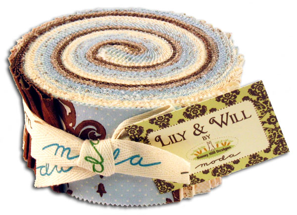 Lily & Will Blue Jelly Roll